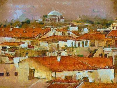 Impressionism Paintings - Continental Journey by Pierre Blanchard