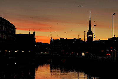 Photograph - Copenhagen Sunrise by Inge Riis McDonald