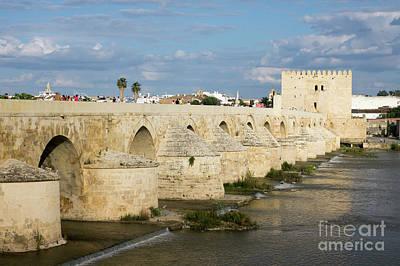 Photograph - Cordoba's Roman Bridge by Rod Jones