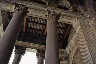 Photograph - Corinthian Column View by JAMART Photography