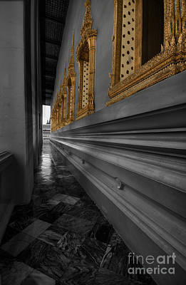 Photograph - Corridor by Charuhas Images