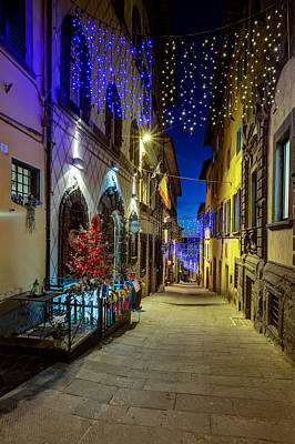 Photograph - Cortona Via Guelfa by Al Hurley