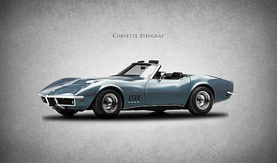 Corvette Stingray Art Print by Mark Rogan