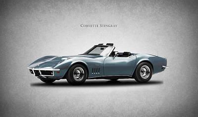 Sting Photograph - Corvette Stingray by Mark Rogan