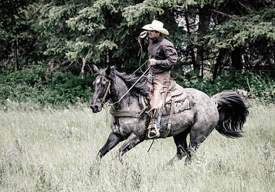 Photograph - Cowboys Ride by Athena Mckinzie