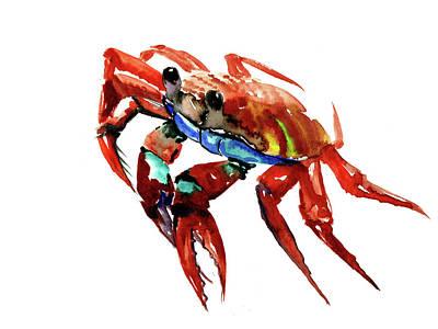 Painting - Crab by Suren Nersisyan