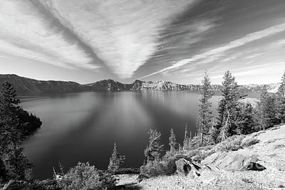 Photograph - Crater Lake by Bruce Block