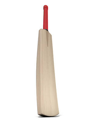 Cricket Digital Art - Cricket Bat by Allan Swart