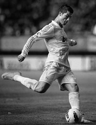 Athletes Royalty-Free and Rights-Managed Images - Cristiano Ronaldo 7 by Rafa Rivas
