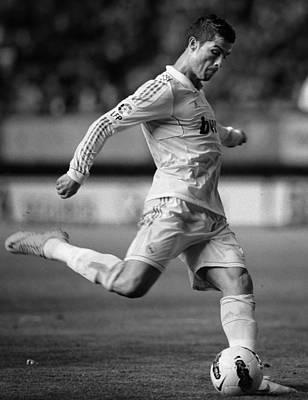 Athletes Royalty-Free and Rights-Managed Images - Cristiano Ronaldo 7 by Rafa Rivas