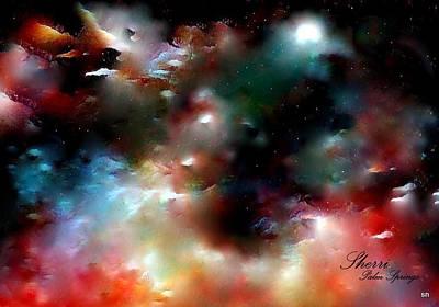 Crystal Universe Art Print by Sherri's Of Palm Springs