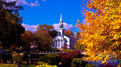 Photograph - Fall Foliage In Milford, Connecticut by New England Photography
