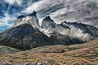 Photograph - Cuernos Del Paine by Alan Toepfer