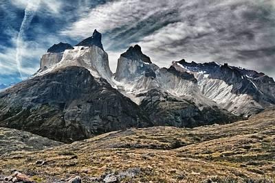 Cuernos Del Paine Art Print by Alan Toepfer
