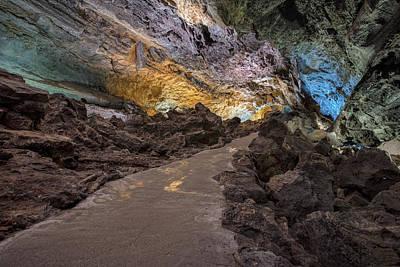 Cueva De Los Verdes - Lanzarote Art Print by Joana Kruse