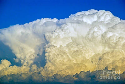 Photograph - Cumulo-nimbus by Rod Jones