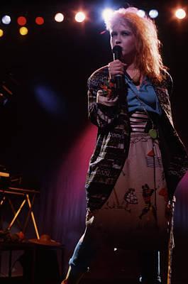 Photograph - Cyndi Lauper by Rich Fuscia