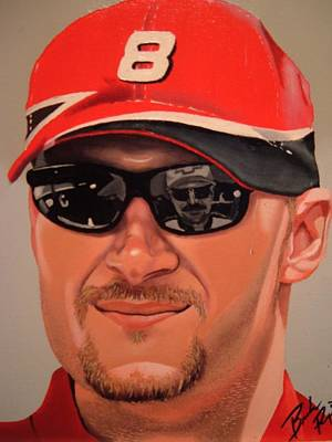 Dale Earnhardt Painting - Dale Jr. by Brandon Ramquist