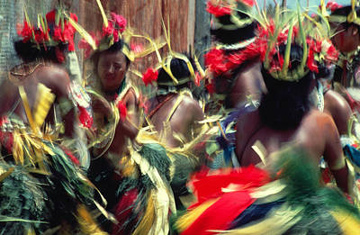 Target Threshold Photography - Dancers in Micronesia by Carl Purcell