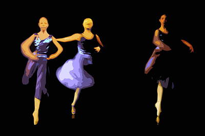 Photograph - Dancers by Jouko Lehto