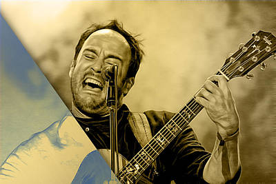Dave Matthews Collection Art Print