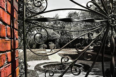 Photograph - Davenport Courtyard by JAMART Photography