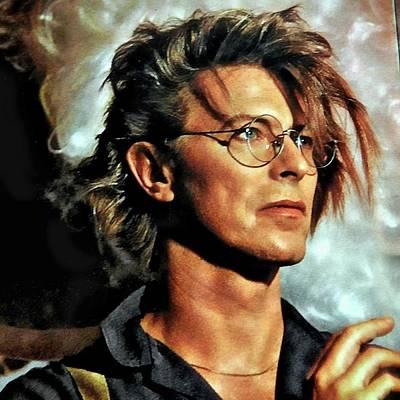 Photograph - David Bowie by Allen Beilschmidt