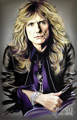 David Coverdale 1 Art Print
