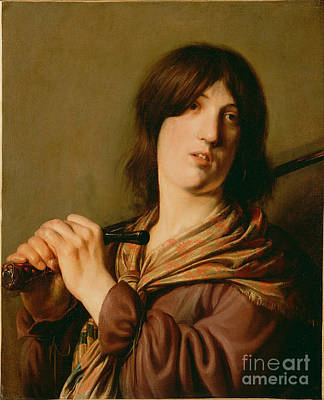 Painting - David With His Sword by Celestial Images