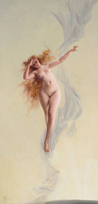Painting - Dawn by Luis Ricardo Falero