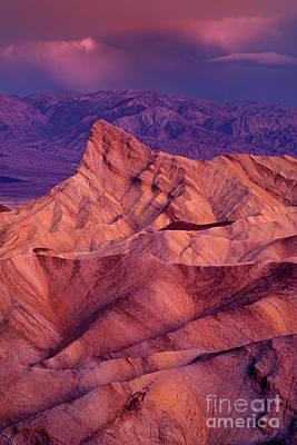 Photograph - Dawn Zabriski Point Death Valley National Park California by Dave Welling