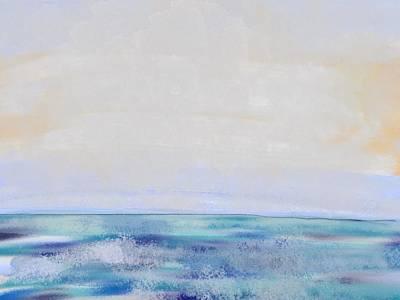 Digital Art - Day At The Beach by Paula Brown