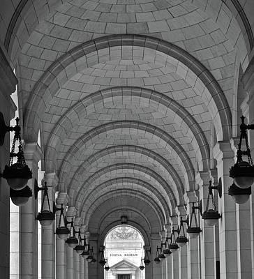 Photograph - Dc Rail Station by Henri Irizarri