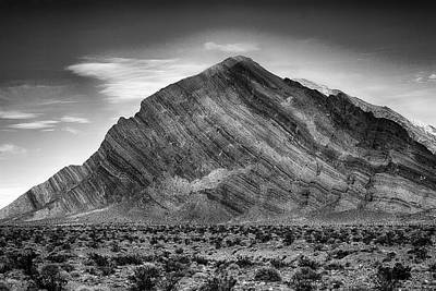 Rock Photograph - Death Valley by Hugh Smith