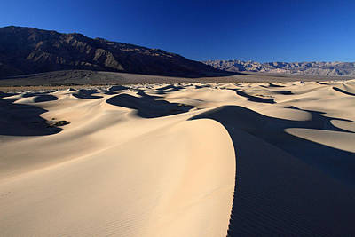 Photograph - Death Valley Sand Dunes by Pierre Leclerc Photography