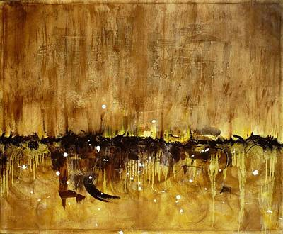 Mohammad Painting - Desert by Hanieh Mohammad Bagher