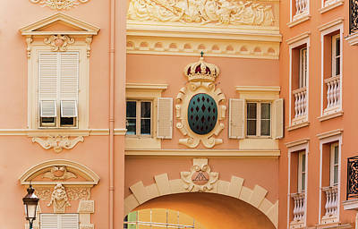 Photograph - Details Of Monaco by Marek Poplawski