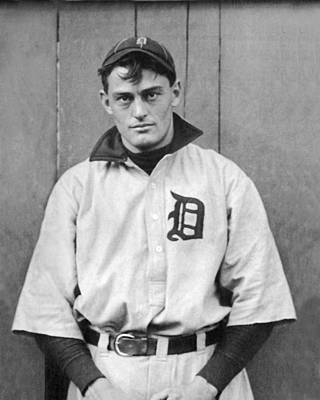 Detroit Tigers Photograph - Detroit Tigers Catcher by Underwood Archives