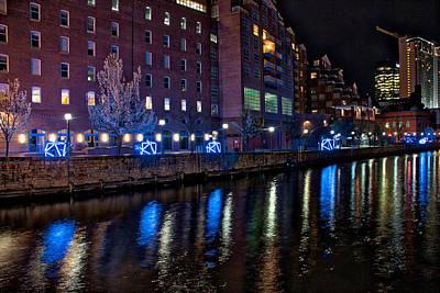 Photograph - Diamond Lights Walkway by Mark Dodd