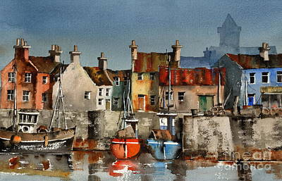 Painting - Dingle Harbour, Kerry by Val Byrne