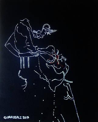 Dinka Corset - South Sudan Art Print by Gloria Ssali