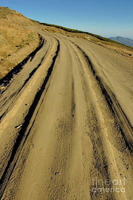 Dirt Road Winding Art Print by Sami Sarkis