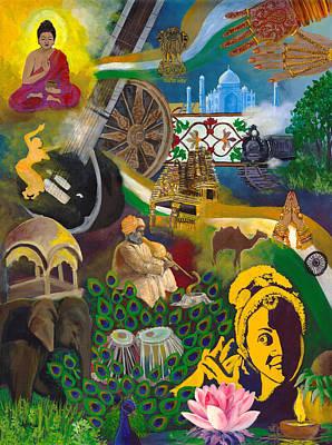 Discover India Art Print
