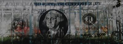 Dollar Bill Original by Rob Hans