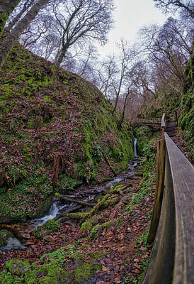 Photograph - Dollar Glen In Clackmannanshire by Jeremy Lavender Photography