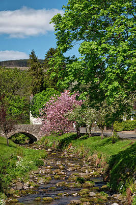 Photograph - Dollar Town In Clackmannanshire by Jeremy Lavender Photography