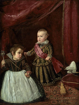 Painting - Don Baltasar Carlos With A Dwarf by Diego Velazquez
