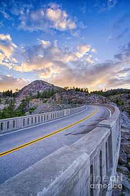 Donner Memorial Bridge Art Print