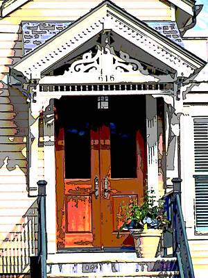 Door Series Art Print by Ginger Geftakys