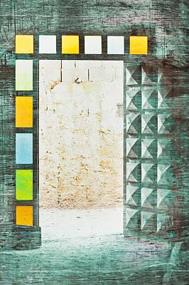 Moroccan Photograph - Doorway by Tom Gowanlock